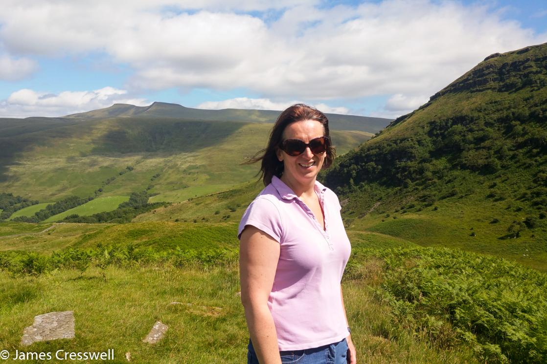 Abby Cresswell in the Brecon Beacons