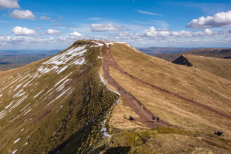 A photograph of Pen y Fan in the Brecon Beacons