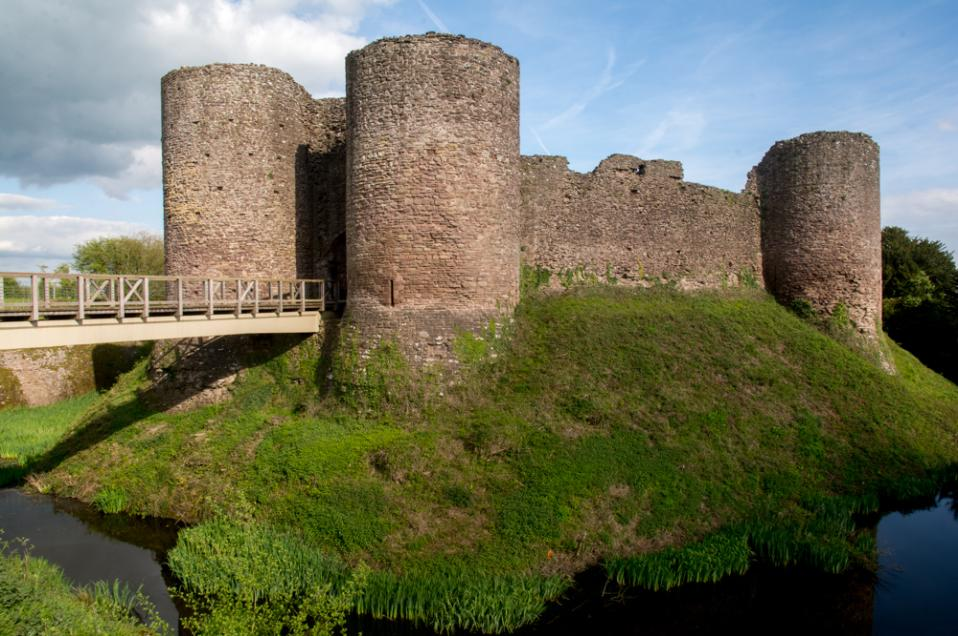 A photograph of White Castle Monmouthshire
