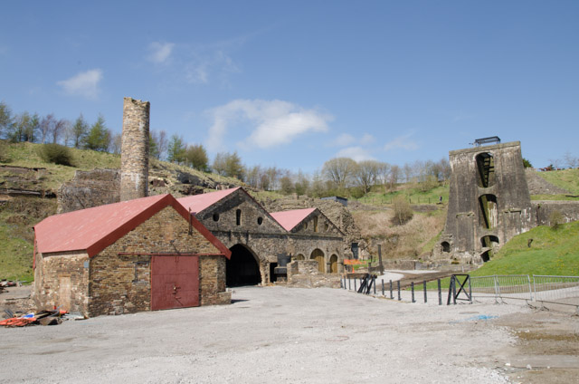 Blaenavon Ironworks in the Blaenavon World Heritage Site