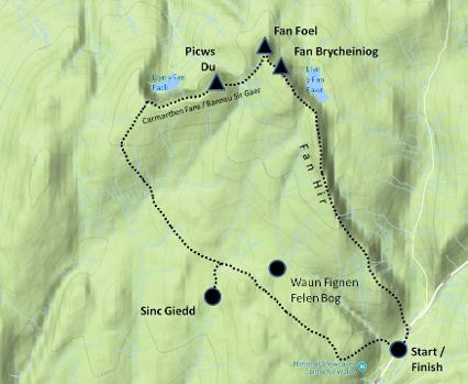 Black Mountain walking tours