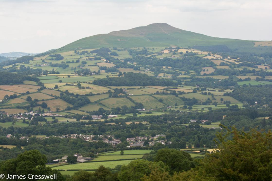 The Sugarloaf in the Black Mountains, Brecon Beacons National Park